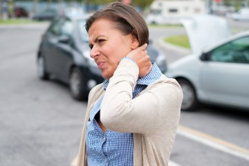 Whiplash & Neck Pain after Auto Accident